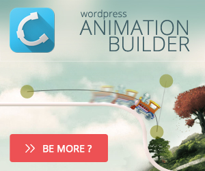 Wordpress Theme with Animation Builder Quasar